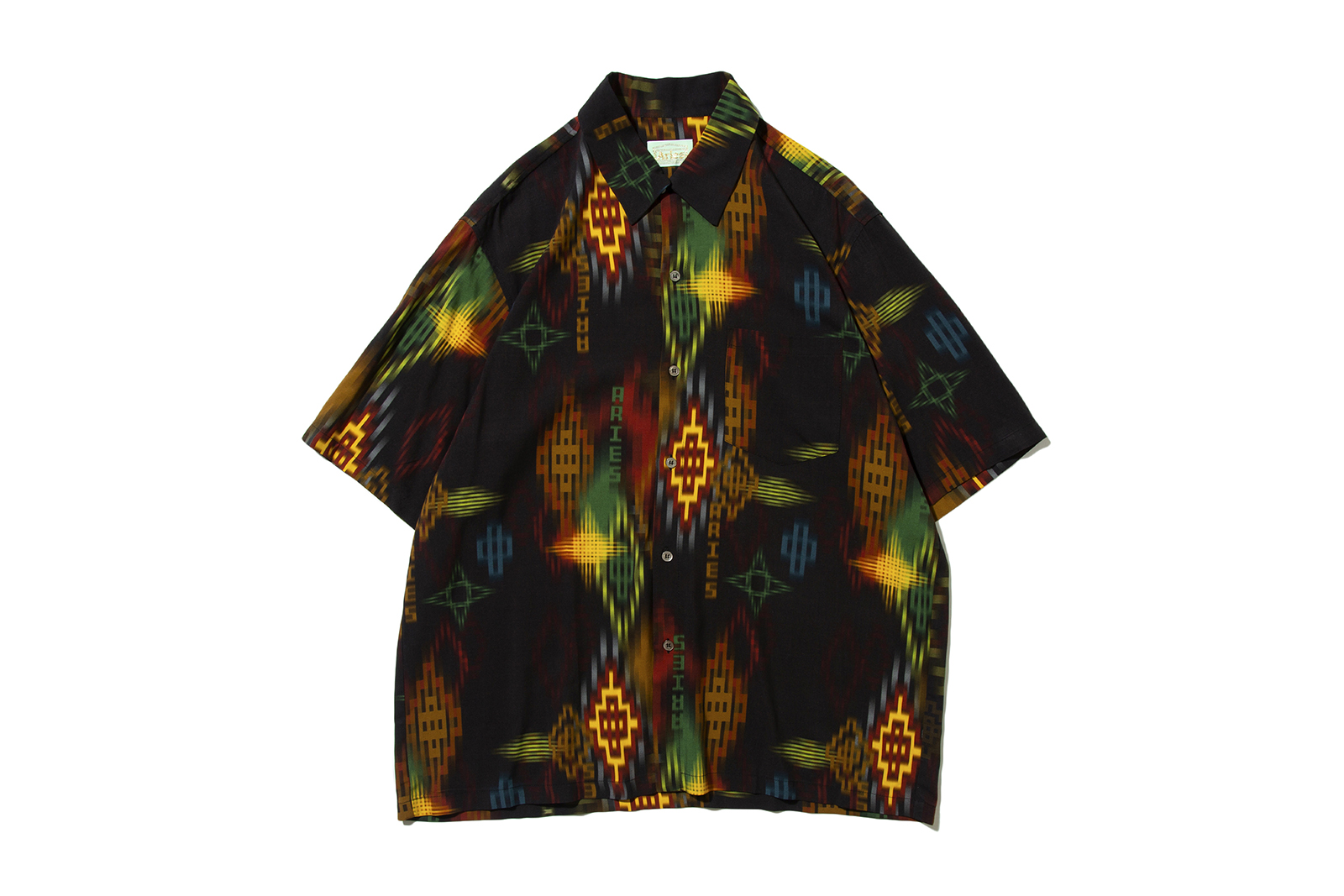 ikat-print-hawaiian-shirt-black_p2